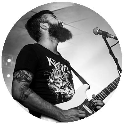 Allan Lancaster Dirty Moonshine Lead Guitarist