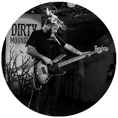 Dave Freedman Dirty Moonshine Bassist