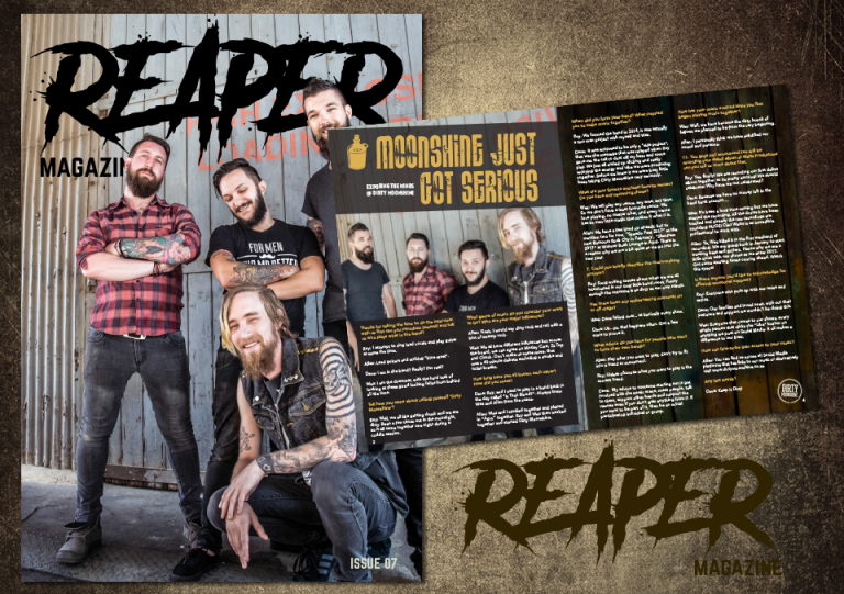 Dirty Moonshine Reaper Magazine Feature